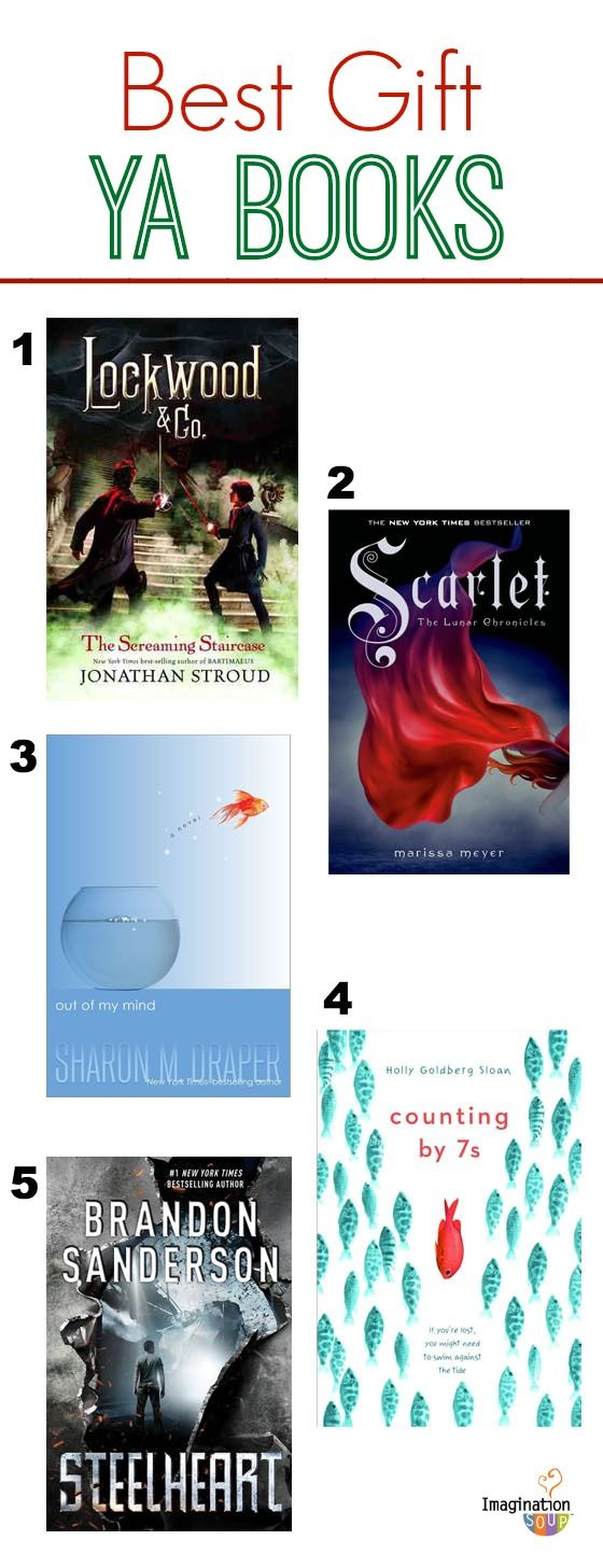 The best YA books of 2013. I LOVED Lockwood & Co.!