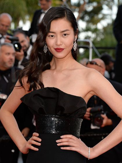 """""""I'm so bad at that. Every time I'm going to events, I'm always trying to look at people to see how to dance. But I'm too tall or something."""" - LIU WEN"""