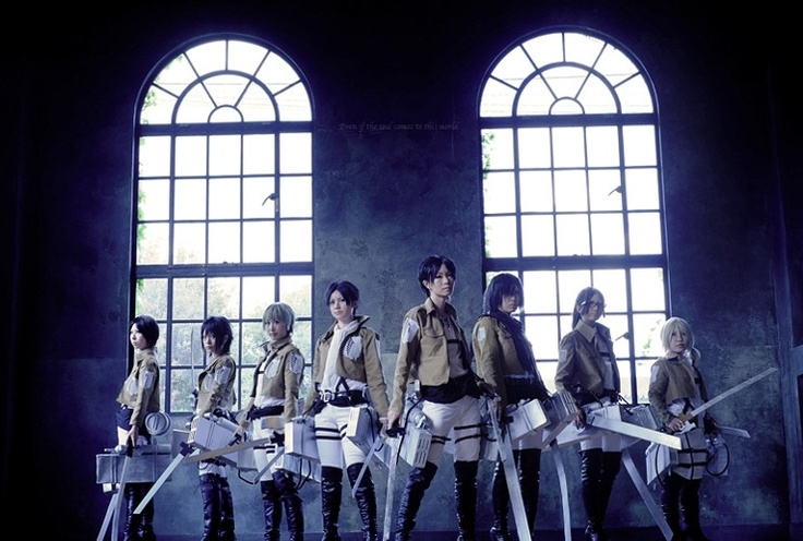 Attack on Titan Cosplay group. | Cosplay | Pinterest ...