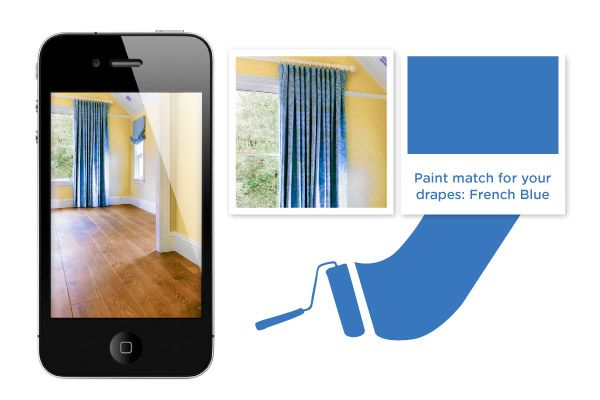 Choose Your Paint with These Fancy Apps | Pick the perfect color without leaving your living room. #HomeMattersBlog
