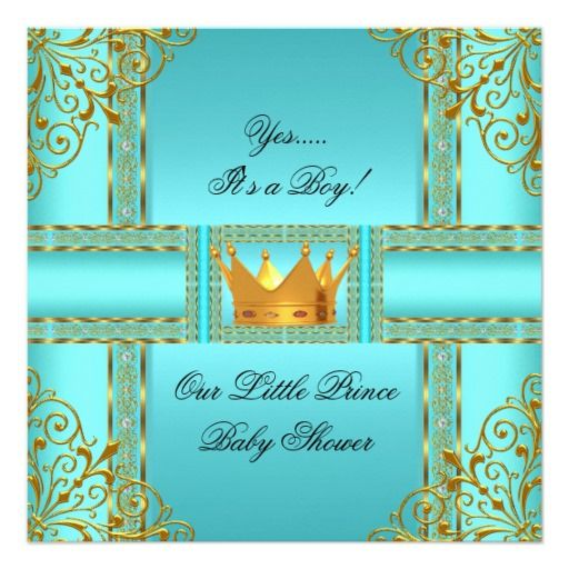 Príncipe azul Coroa do menino do ouro da cerceta