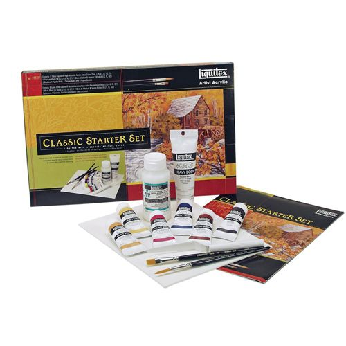 Professional Acrylic Starter Paint Set | Birthday Gift Guide for Teen Girls