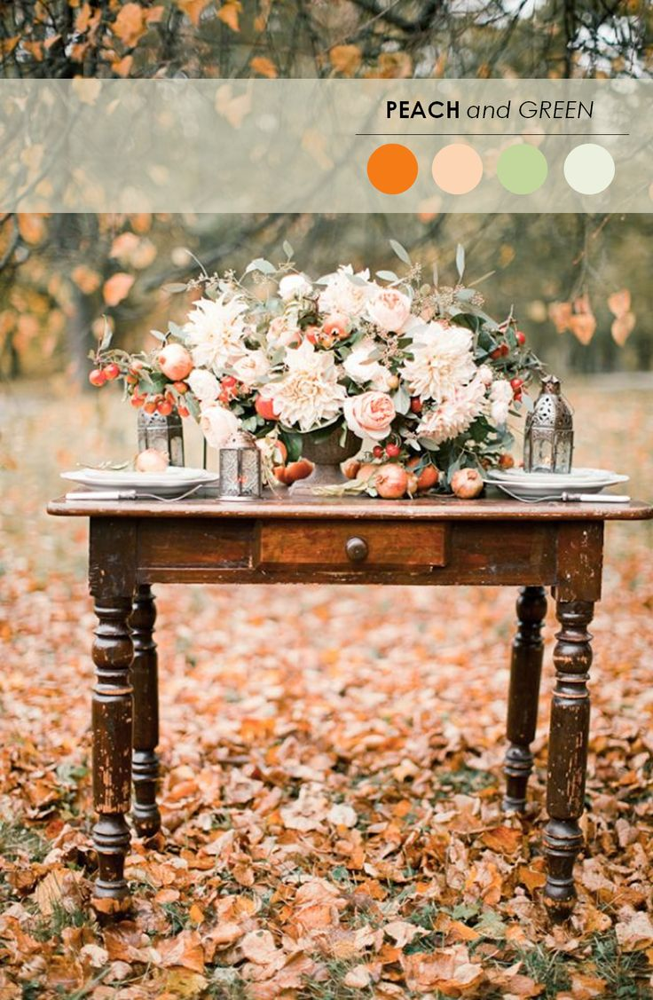 18 Fall Wedding Color Palettes   The Ultimate Guide