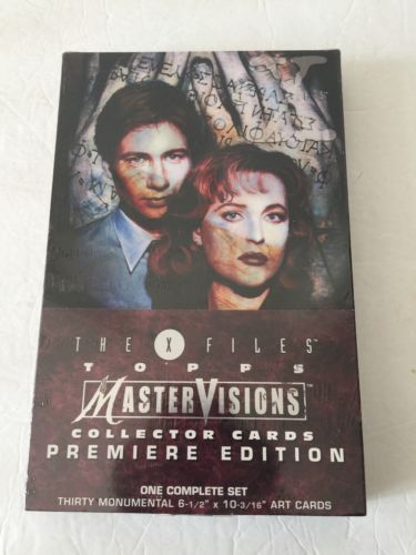 VTG-The-X-Files-Master-Visions-Collector-Cards-Premier-Edition-TOPPS-30-Cards