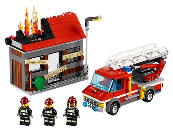 L'intervention du camion de pompier | LEGO Shop