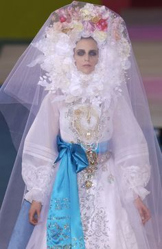 Wedding Dress from Christian Lacroix Couture Spring 2002 - Pesquisa Google