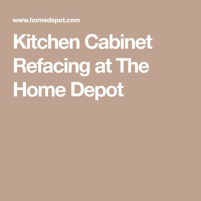 The Home Depot Installed Cabinet Refacing Wood Stained: Best 25+ Cabinet Refacing Ideas On Pinterest
