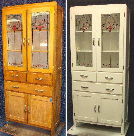 Refinished Hoosier Pantry Pie Safe Cabinets Gallery Diy
