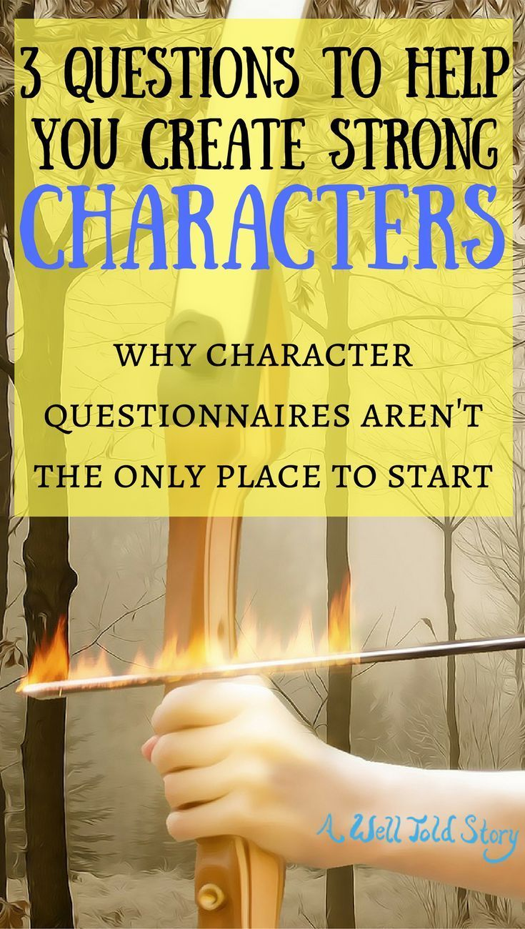 the three ways to develop a character in a story Helping young students develop characters for their own writing describe in depth a character, setting, or event in a story or drama.
