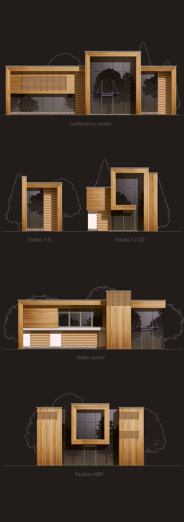 Super simple way to present elevations that looks good in a presentation