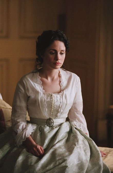 Emily Trevelyan - Laura Fraser in He Knew He Was Right, set in Victorian England (BBC TV mini-series 2004).