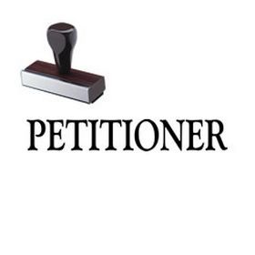 #Petitioner #Rubber #Stamp. Get the Regular Petitioner Rubber Stamp online from Acorn Sales. This Regular Petitioner Rubber Stamp is the perfect legal stamp for your law firm.