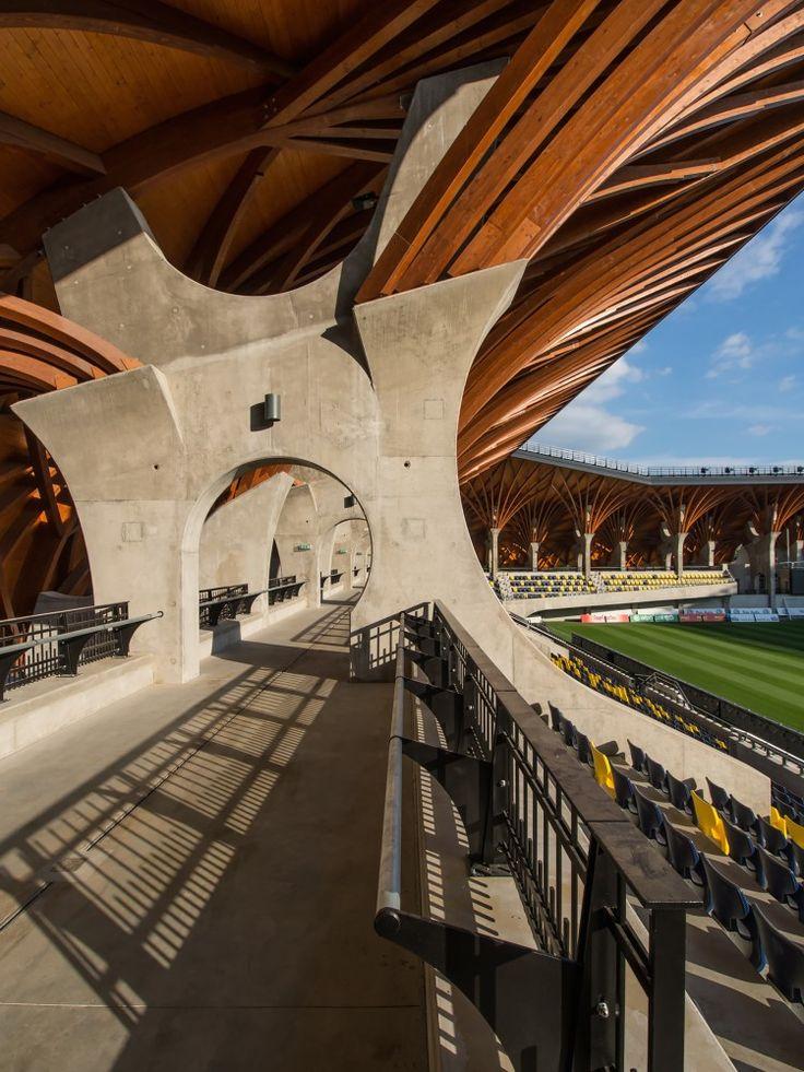 Pancho Arena by Tamás Dobrosi + Doparum Architects / Felcsút, Fő Street 169, 8086 Hungary