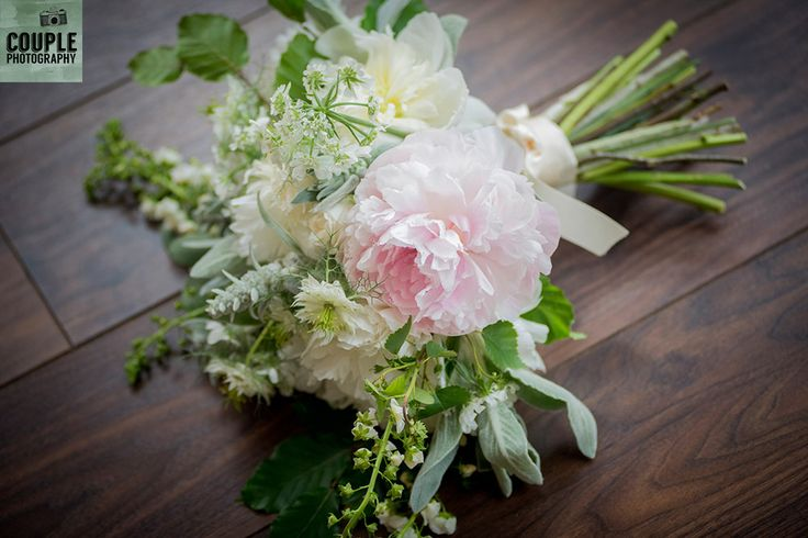 Romantic flowers. Real Wedding by Couple Photography, www.couple.ie