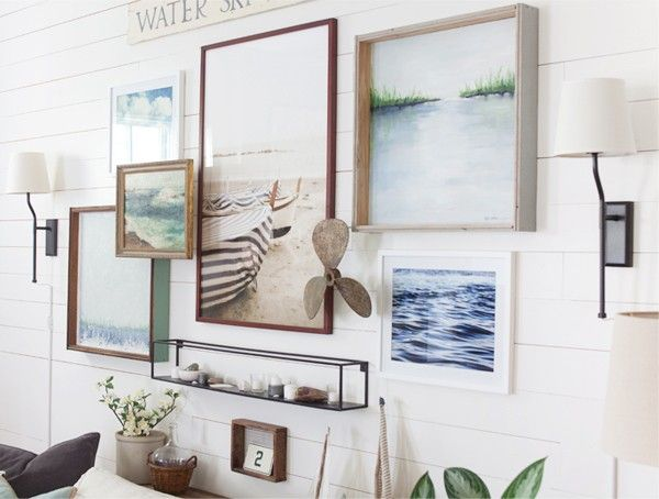 Gallery Wall | The Lettered Cottage | Lake | Farmhouse