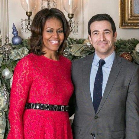 Michelle Obama and Ari Melber