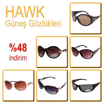 HAWK Güneş Gözlüklerinde %48 indirim...