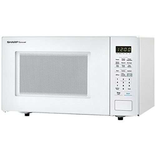 Almo Distributing Wisconsin Smc1441cw 1 8 Cu Ft White 1000w Carousel With 3 Sensor Cook Microwave For Sale Microwaves For Sale Microwave Countertop Microwave Oven