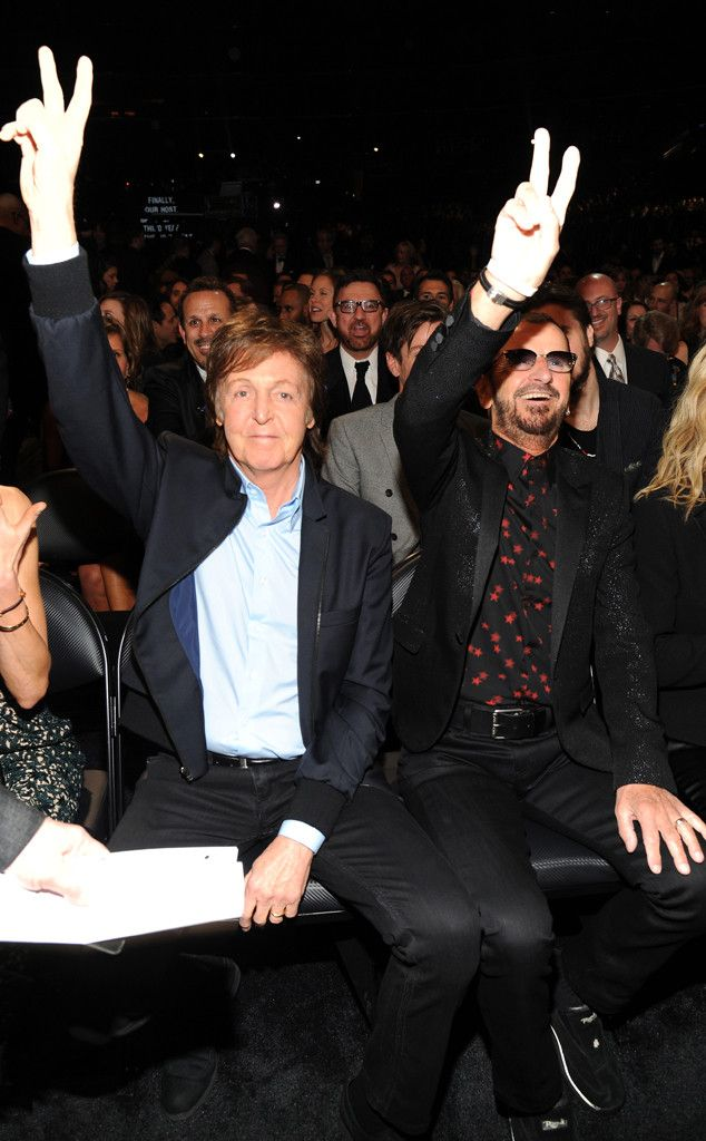 Paul McCartney, Ringo Starr, Grammy's, Candids