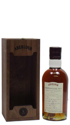 Aberlour – Single Cask Selection #6041 – 1994 15 year old Whisky: Aberlour Whisky Wooden Box 70cl / 700ml