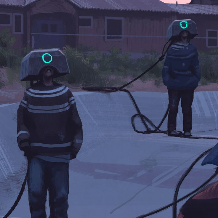 Simon Stålenhag is back with his breathtaking, atmospheric scenes from imaginary dystopian worlds. More art on the grid via Colossal