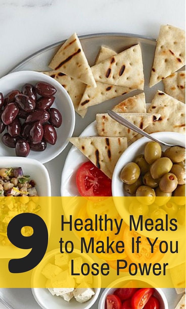 No Power? No Problem. Healthy Meals to Make If You Lose Power. #poweroutage #healthymeals #cookfreefoods #everydayhealth | everydayhealth.com