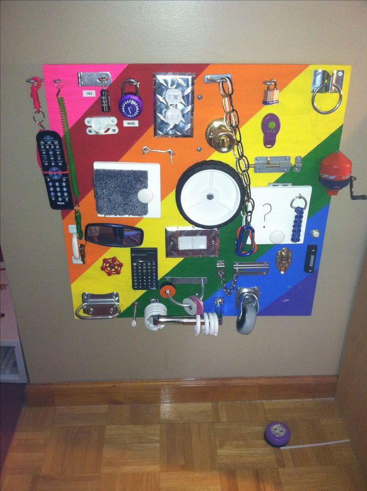 Cool busy board