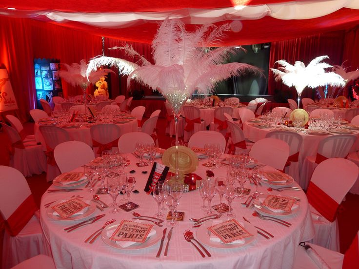 theme mariage  rouge