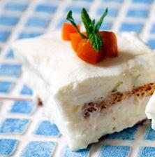 Ένα γλυκάκι που θα χαρείτε μικροί και μεγάλοι, δροσερό και υπέροχα γευστικό και με λίγες θερμίδες