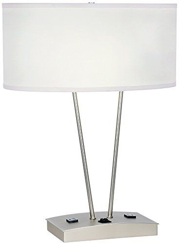 1000 images about table lamps with power outlets on pinterest. Black Bedroom Furniture Sets. Home Design Ideas