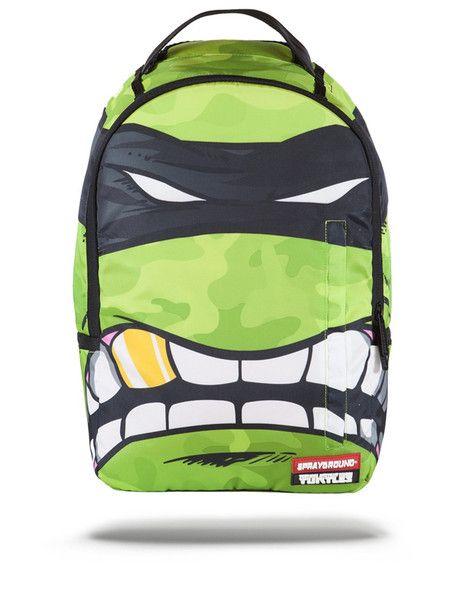 SPRAYGROUND Rebel Mask X Teenage Mutant Ninja Turtle Backpack | Green