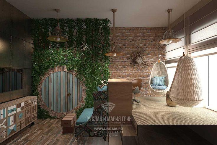 Дизайн детской комнаты для девочки в квартире  http://www.interior-design.biz/portfolio/dizayn-kvartiry-v-centre-moskvy