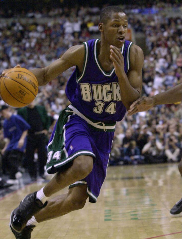 Ray Allen - Milwaukee Bucks, 1996–2003