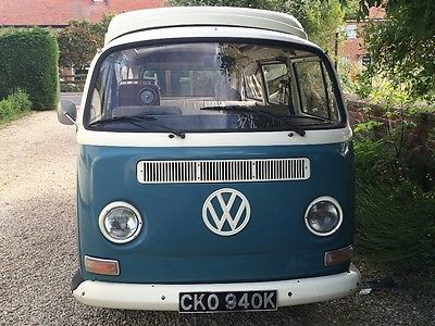 eBay: eBay: Volkswagen Bay T2 - Dormobile 1972