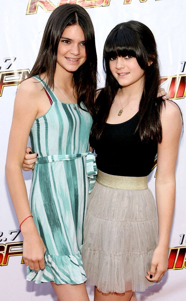 2009 from Growing Up Kardashian: Kylie Jenner  Kylie had major bangs back in 2009!