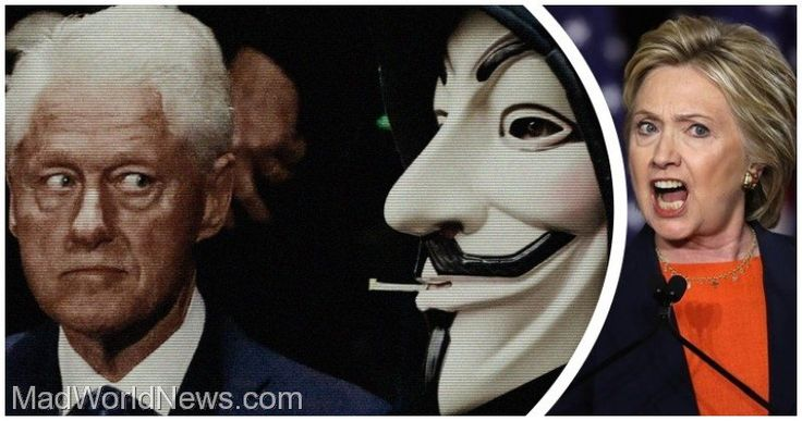 """Anonymous Drops 'October Surprise': Bill at """"Orgy Island"""" with under-age girls"""