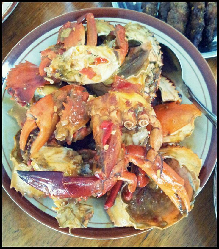Home Made Chili Crab