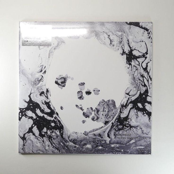 RADIOHEAD: A Moon Shaped Pool Vinyl [Limited Edition, White 2LP, 180g, Download] #BritpopAlternativeIndieBritishInvasion