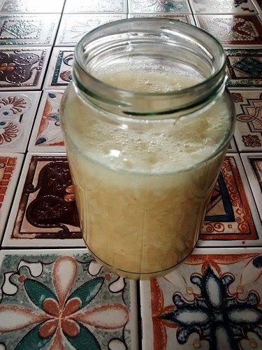Suco de batata yacon