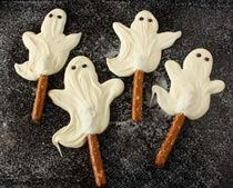 White Chocolate Ghosts – School surprises!