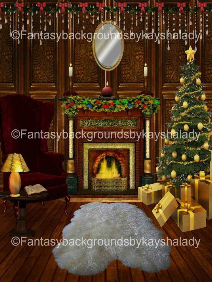 New Post digital christmas backdrops
