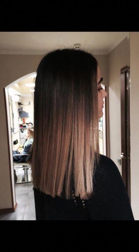 50 Trendy Hair Balayage Color Blunt Cuts #haircolorbalayage