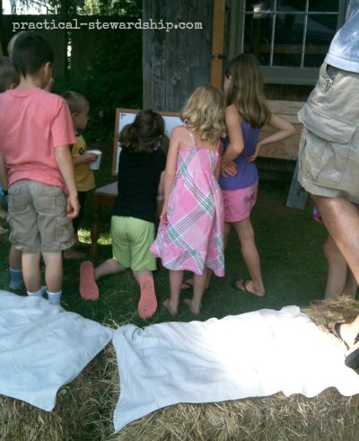Fun with Pictionary @ the Burlap Party