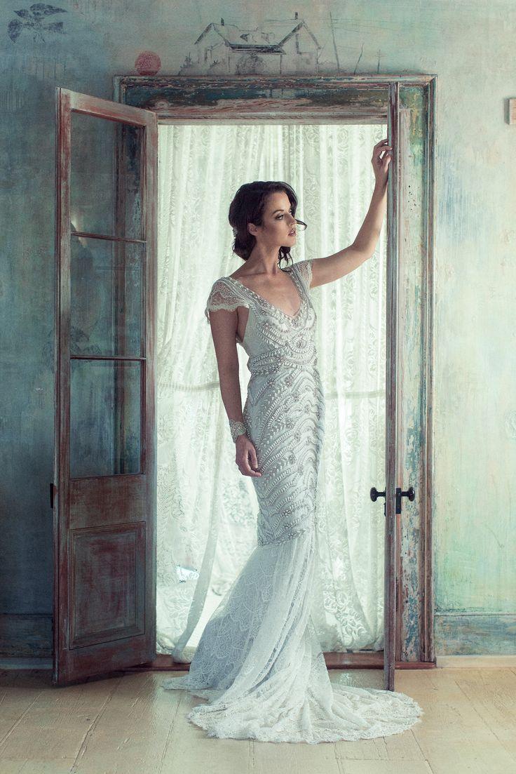 Bridal blog anna campbell vintage inspired wedding for Anna campbell wedding dress for sale