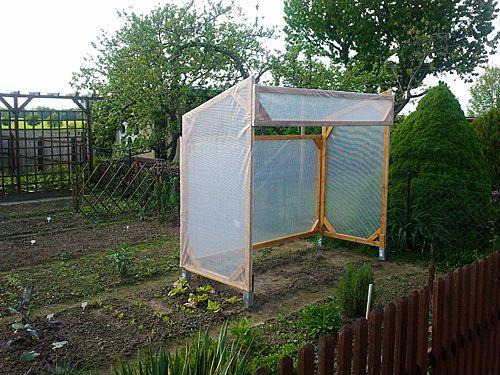 Tomatenhaus Eigenbau