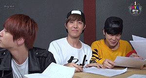 """When you try to choose you bias but you bias chooses you"" Literally, J-Hope, give me a chance XD ok le'mme luv u"