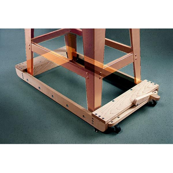 Mobile Tool Base Woodworking Plan, Shop Project Plan | WOOD Store