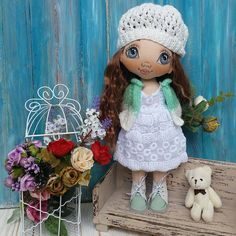 Цветочек для мамы)) #torrytoys #куклаизткани #кукларучнойработы #коллекционнаякукла #кукланазаказ #кукла #куклавподарок #dolls #clothdoll #интерьернаякукла #textildoll