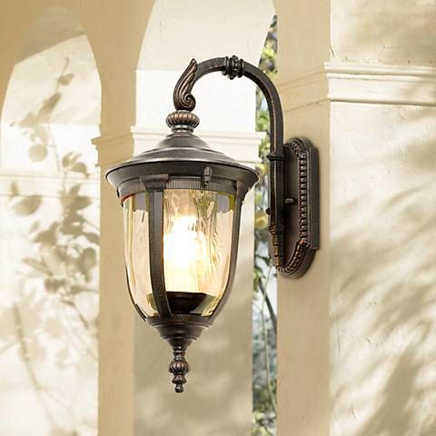 Bellagio 16 1 2 high energy efficient downbridge wall light style 42422