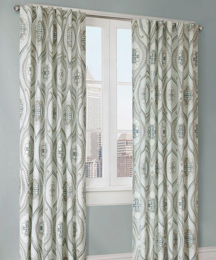 Lagoon Lanterna Curtain Panel | zulily
